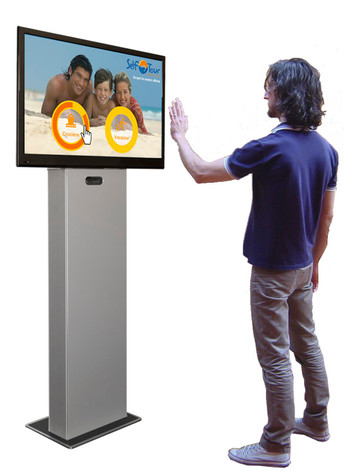 Totem multimediali touchless