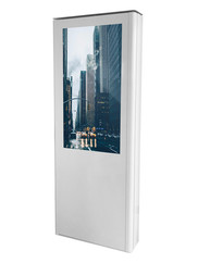 Totem multimediali touch outdoor