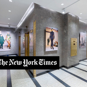 The New York Times' review on my latest exhibition NY Fashion Rediscovered
