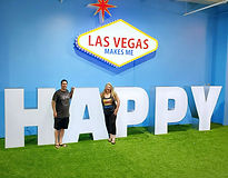 Vegas Makes Us Happy