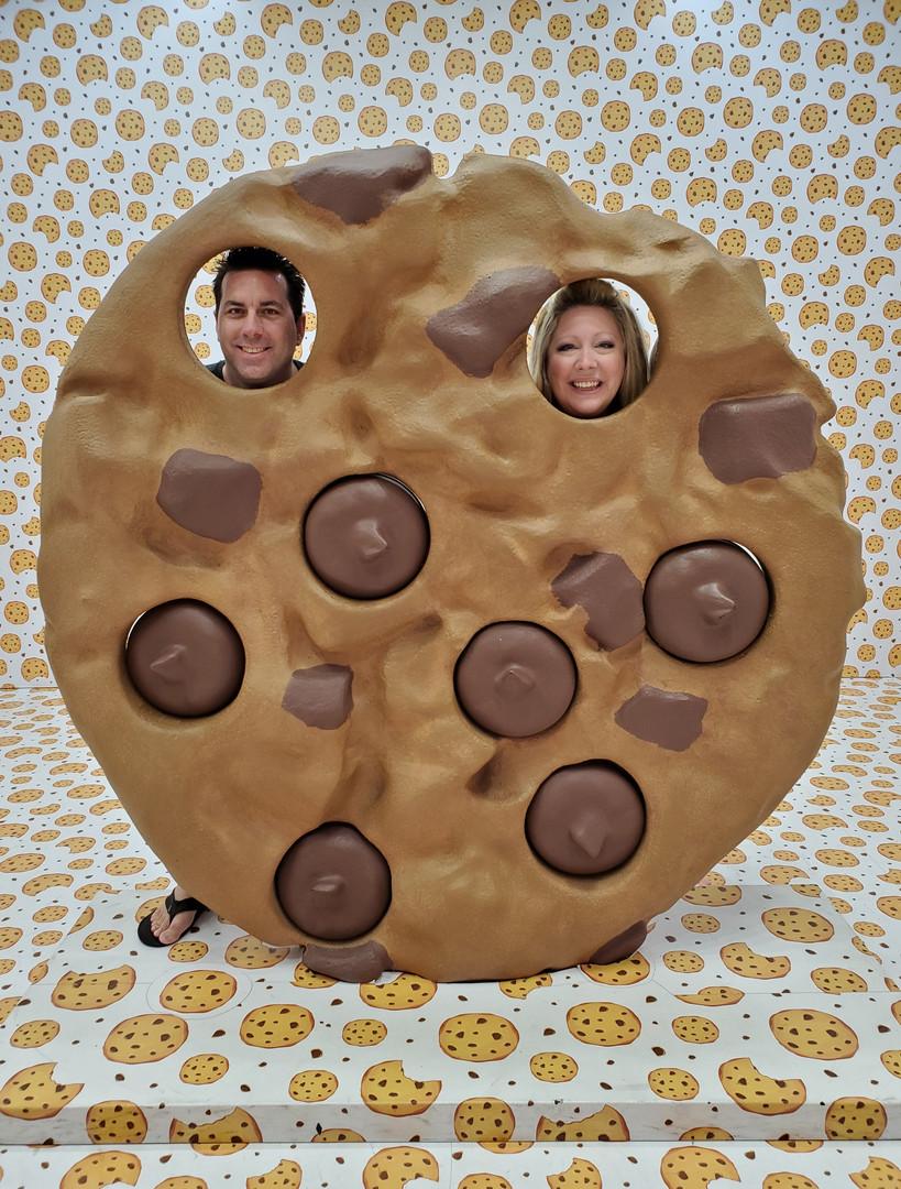 Vegas Fun Cookie Selfie Happy Place Exhi