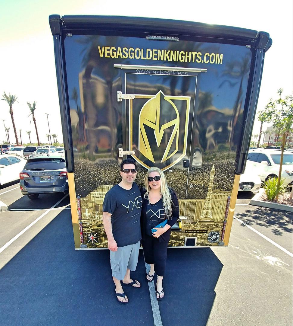 Vegas Golden Knights VGK Truck Hockey Co