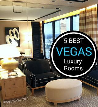 5 Main Best Vegas Strip Luxury Hotel Roo