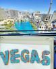 Vegas Pinkbox Donuts Blue Bellagio Fount