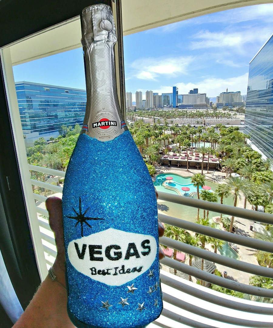 Vegas Best Ideas Sparkle Bottle Hard Roc