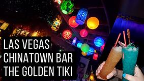 Las Vegas Chinatown Bar The Golden Tiki.