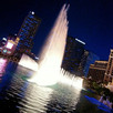 Blue Bellagio Fountains Vegas Cosmopolit