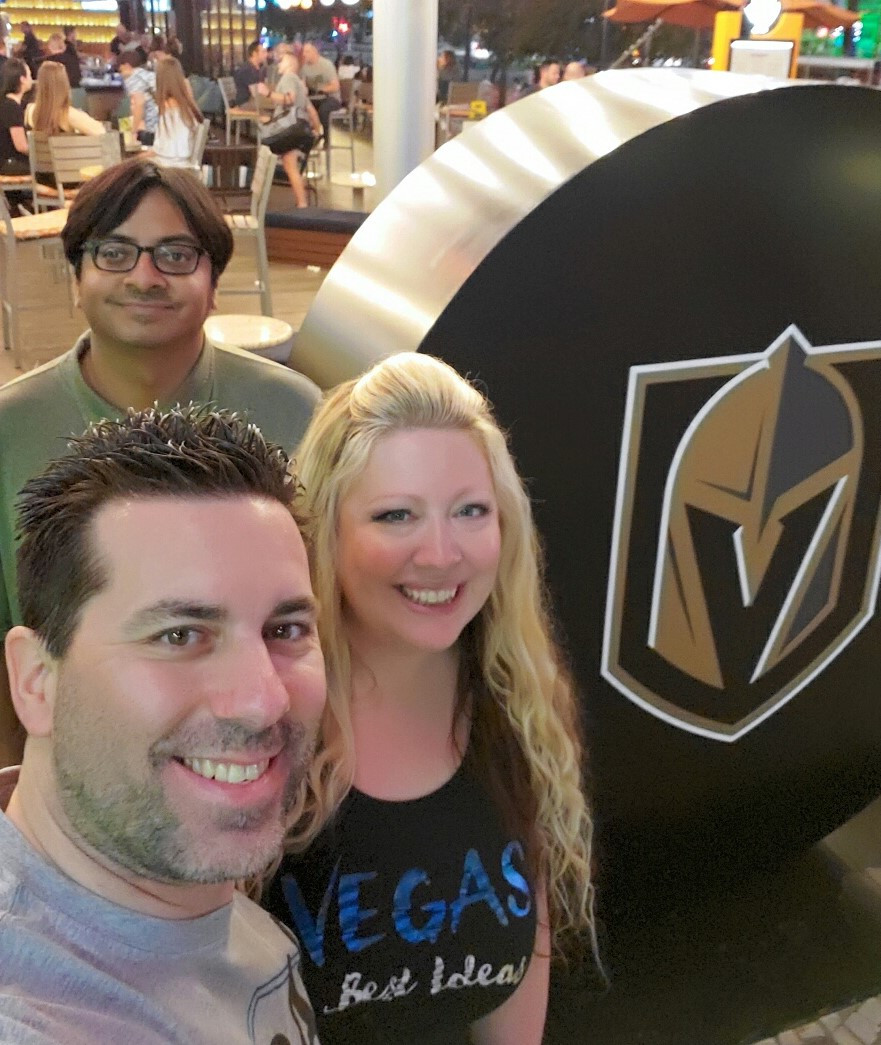 The Park VGK Hockey Puck Selfie.jpg