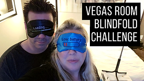 Las Vegas Room Blindfold Challenge Carls