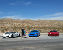 Red Rock Speed Vegas Sports Cars Couple.
