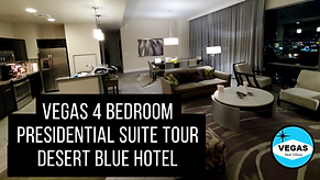 Vegas Wyndham Desert Blue Presidential R