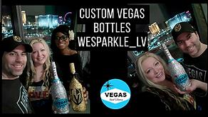 Las Vegas Custom Bottles We Sparkle Lv.p