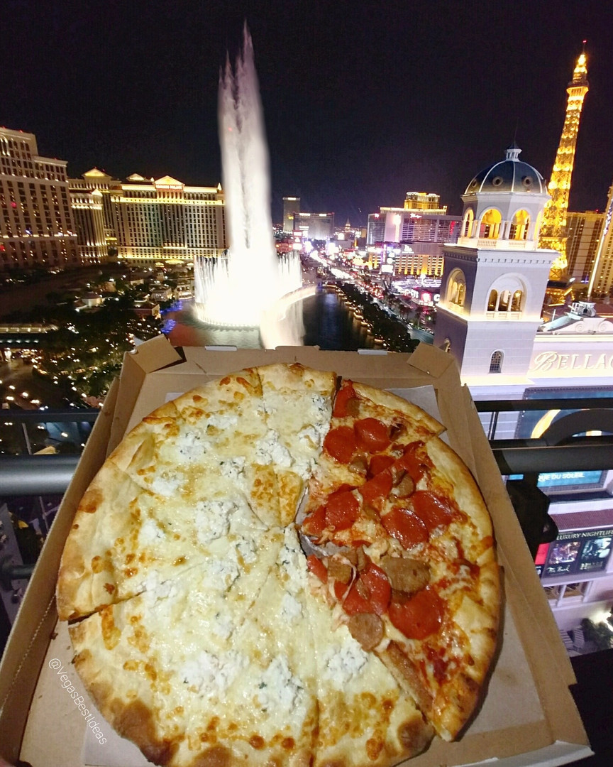 Vegas Cosmo Secret Pizza Bellagio Founta