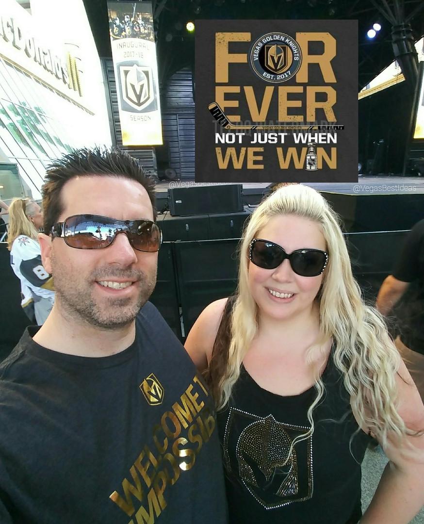 Vegas Golden Knight Watch Party Downtown
