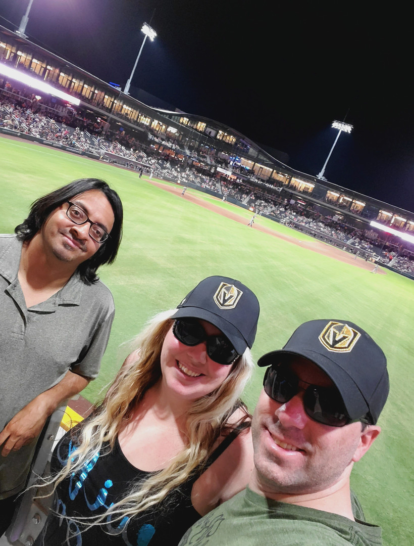 Las Vegas Ballpark Aviators Ball Game Fr