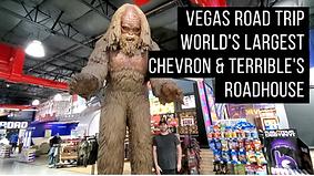 Vegas Road Trip Worlds Largest Chevron T