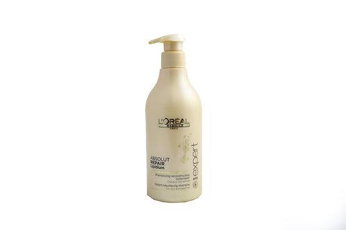 שמפו לוראל זהב אבסולוט ריפר-לשיער פגום מאוד
