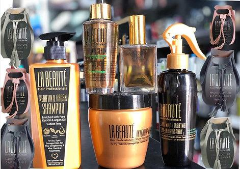 סט משולם לשיער הכולל מסכה שמפו סרום ומוצר נוסף לבחירה כולל תיק מפואר