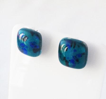 Boucles d'oreilles METEORE/bleu