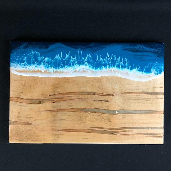 "Turquoise Ambrosia Maple Ocean 18"""