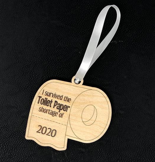 2020 Toilet Paper Ornament