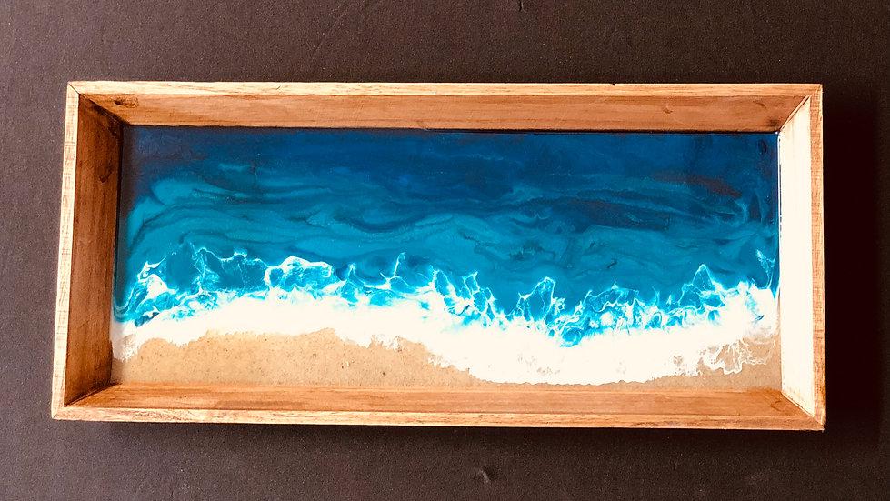 Small Rectangular Ocean Tray