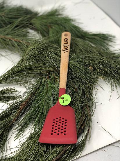 Red spatula  -ENJOY