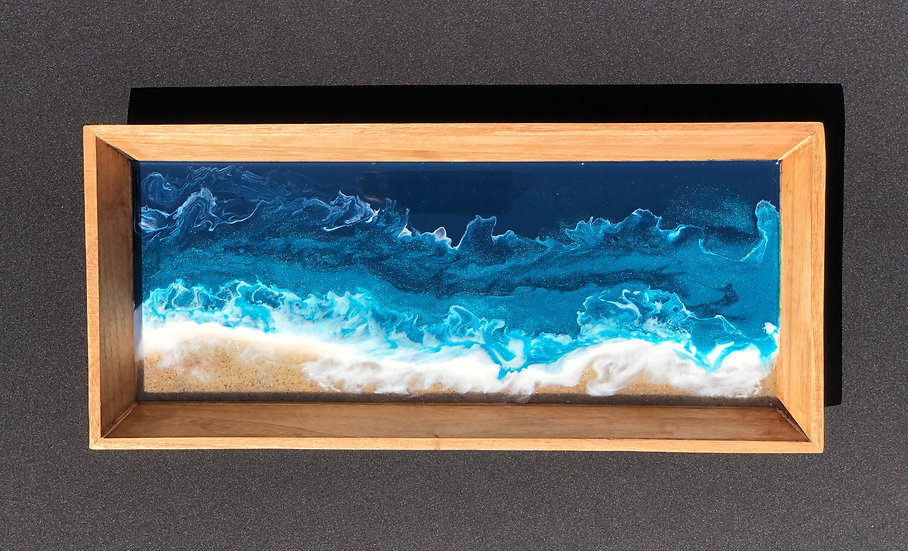 Small Rectangular Ocean Tray 2