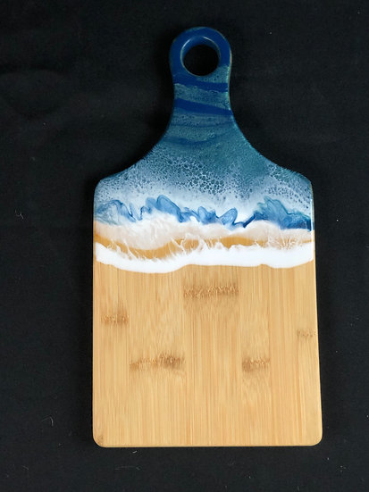 Small Mermaid Bamboo Resin Cheeseboard