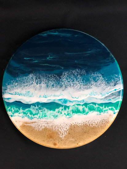 "Small Ocean Lazy Susan 15"""