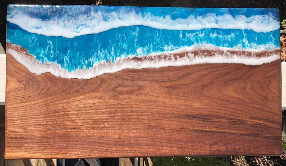 XL Walnut Wave Board