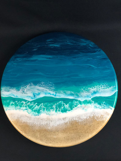 "Medium Ocean Lazy Susan 18"""