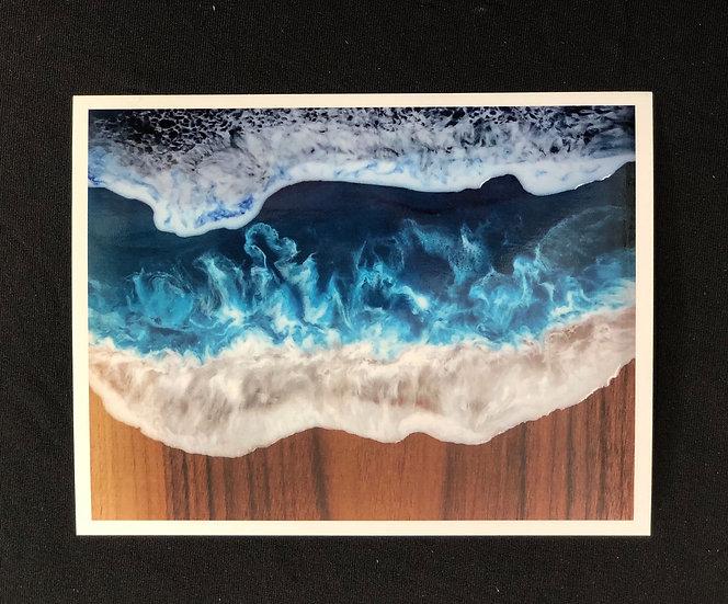 Set of 5 Ocean Board Postcard