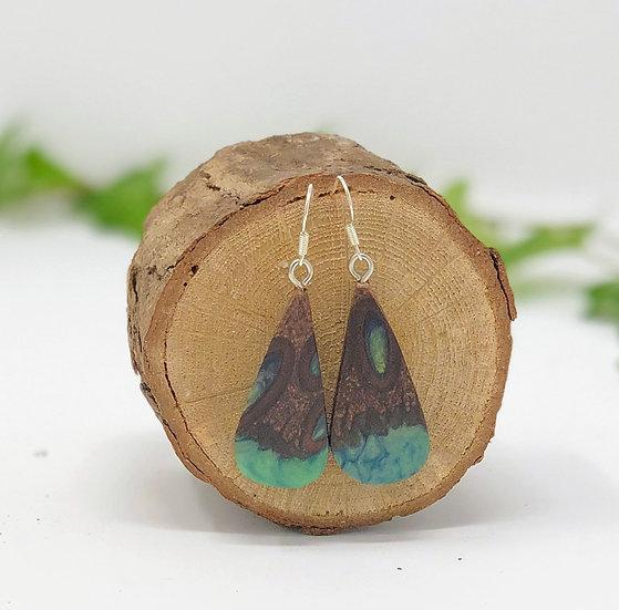Green Lagoon Banksia Earrings 2