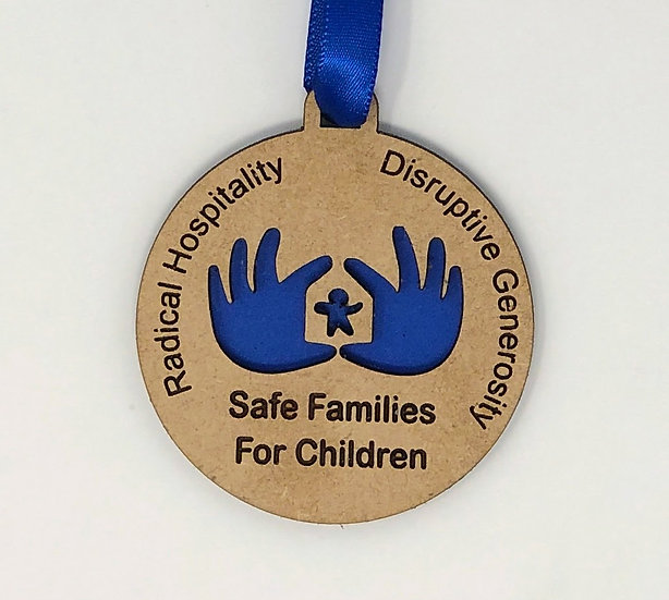 SFFC Draftboard Ornament with Backing WITHOUT TAX EXEMPT ID
