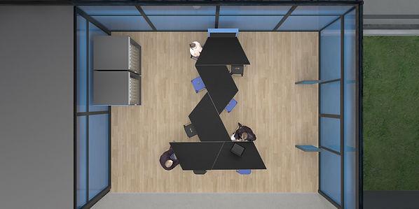 Studio Desamble // Amnagemen bureaux open space