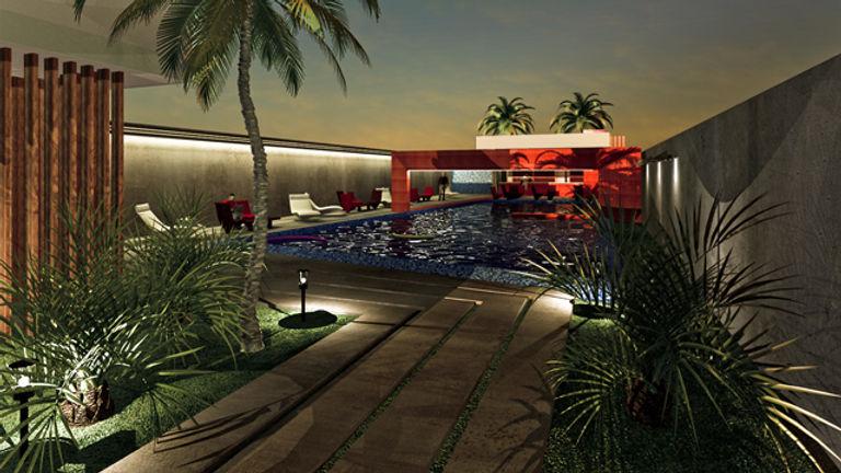 Projet de piscine architecte