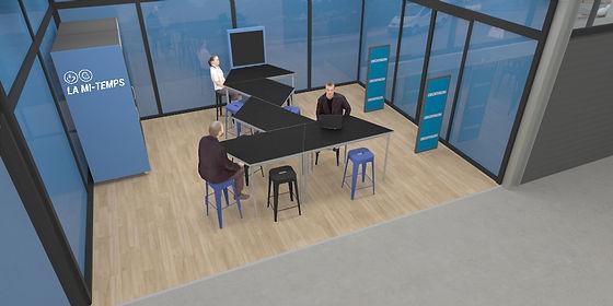 Studio Desamble // Aménagement locaux professionels