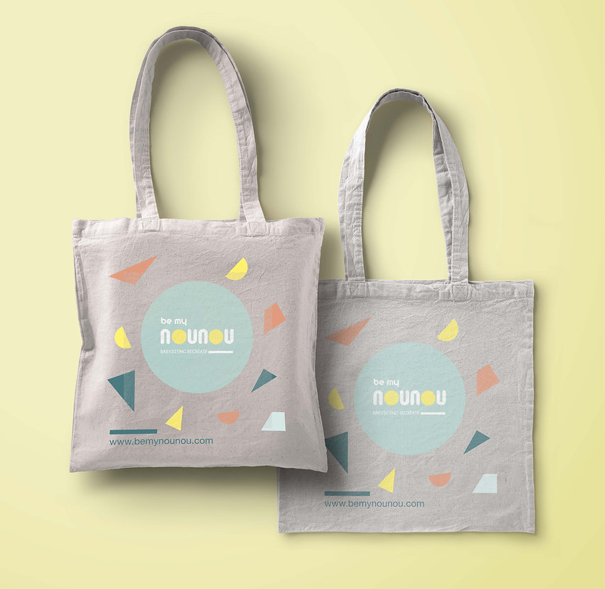 Tote-bag personnalisé Be my nounou