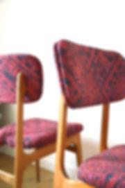Chaise scandinave ethnic