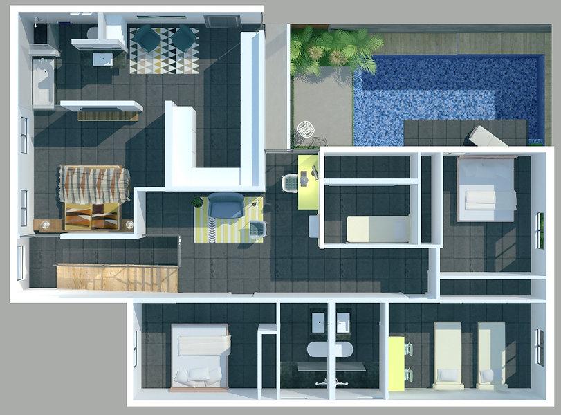 Plans 3D architecture