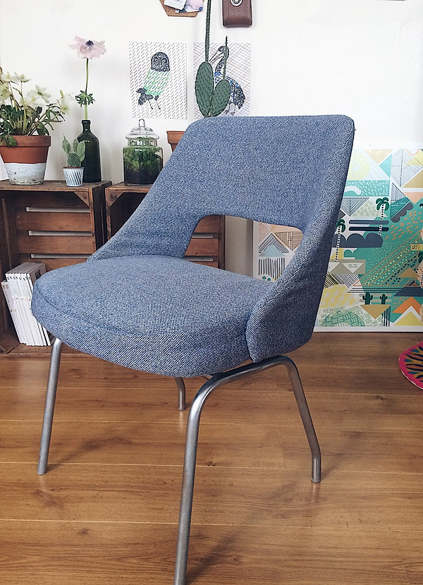 Chaise vintage de bureau