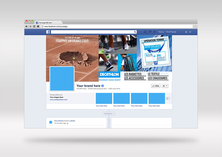 Facebook Decathlon