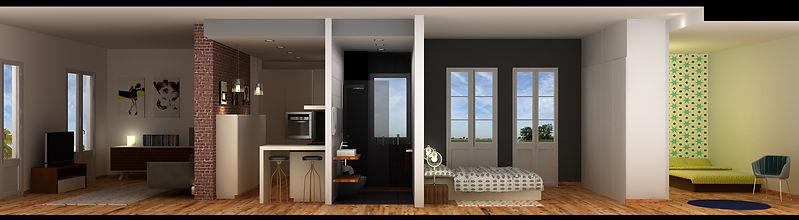 Solution petit appartement