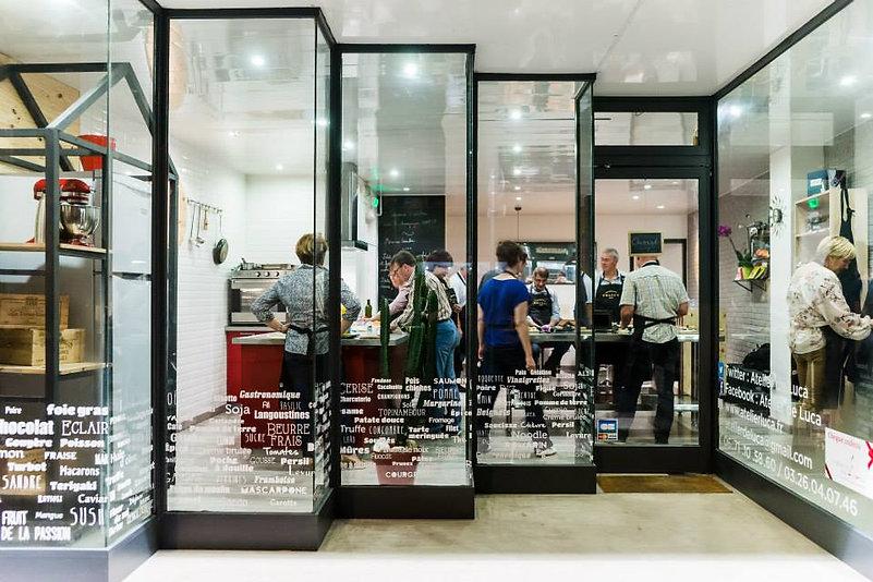 Cours de cuisine Reims L'Atelier de Luca