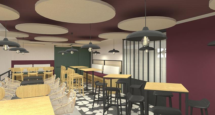 Aménagement restaurant Angoulême