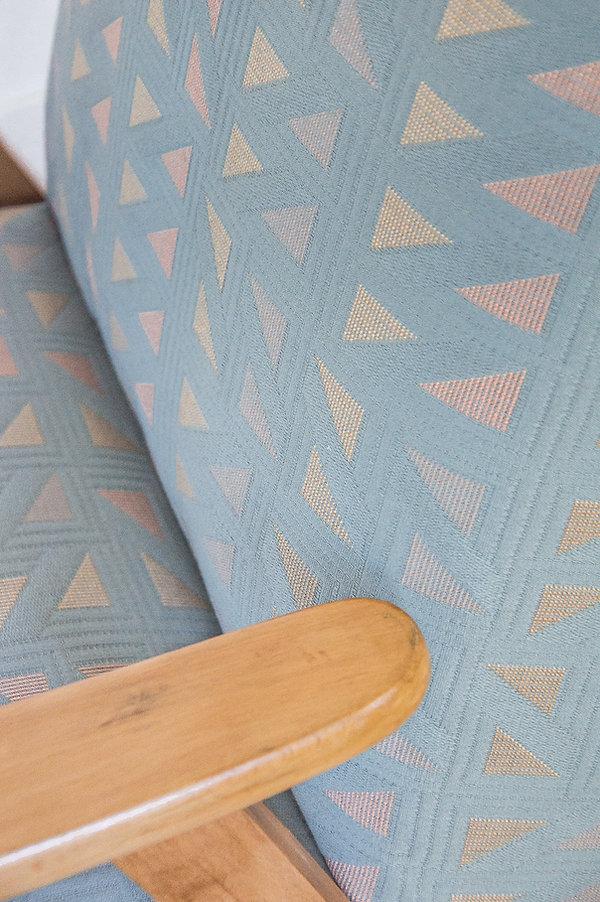 Tissu motifs géométriques triangle