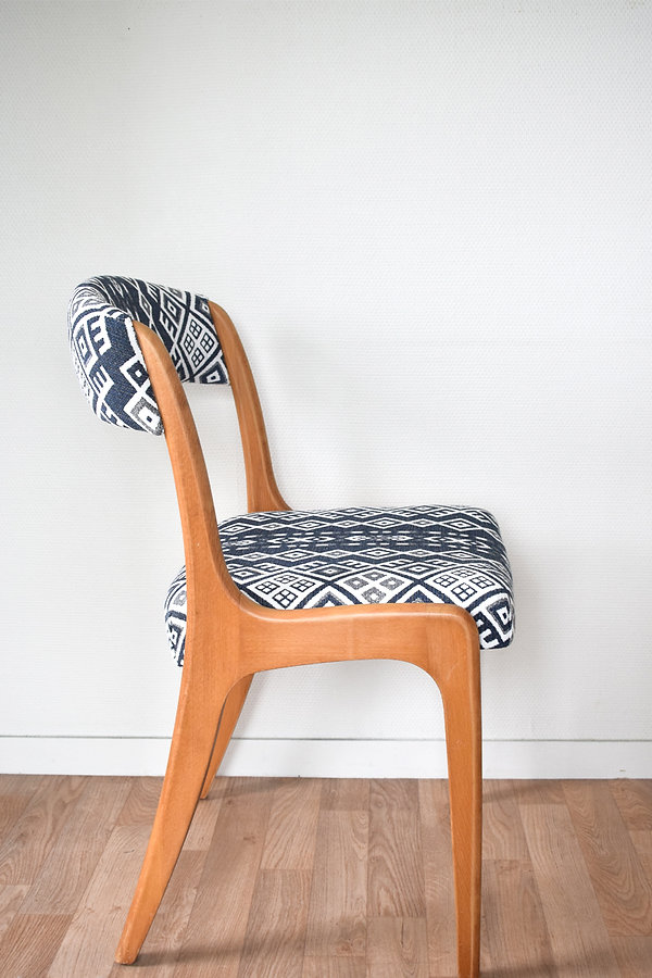 Chaise pied traineau
