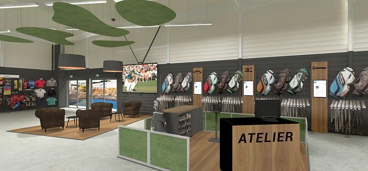 Espace golf magasin Decathlon Bordeaux Mérignac