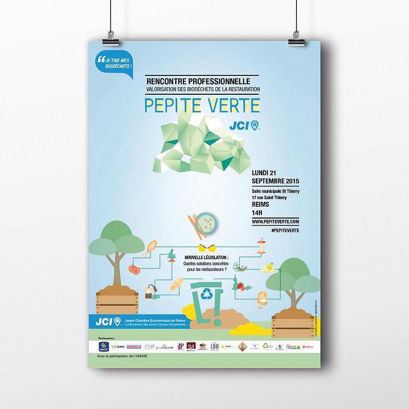Salon professionnel Pepite verte valorisation des biodechets Reims